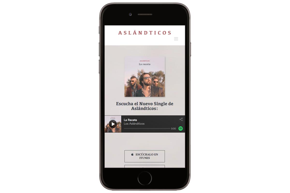 Web de Aslándticos