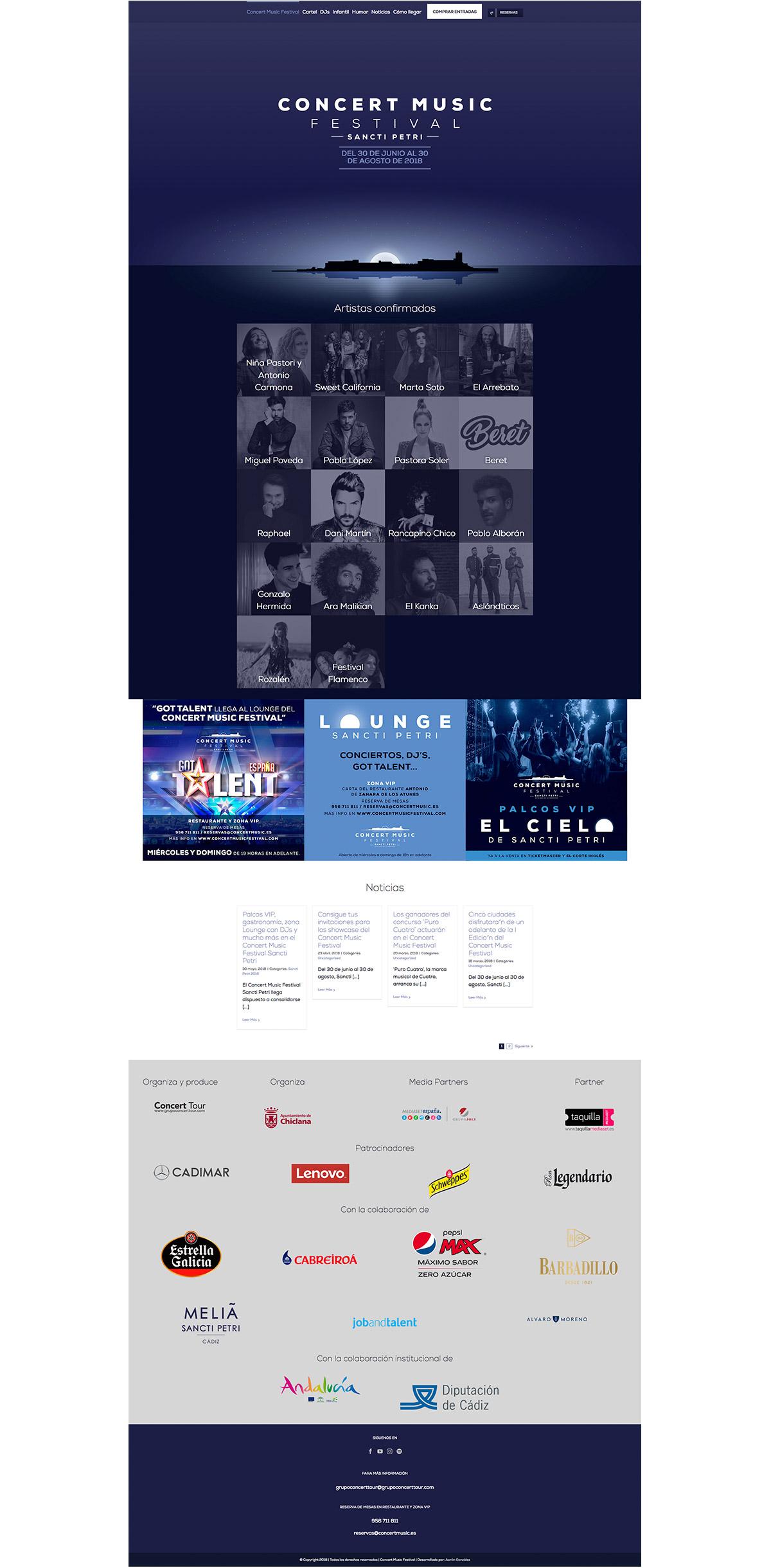 web de concert music festival